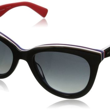 D&G Dolce & Gabbana Women's 0DG4207 Cat-Eye Polarized Sunglasses