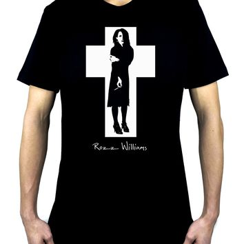 Rozz Williams Men's T-Shirt Christian Death Gothic Punk Deathrock