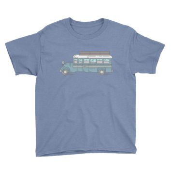 Big Blue Bus - Youth Tee