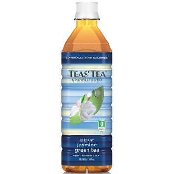 Teas' Tea Unsweetened Green Jasmine Tea - Case Of 12 - 16.9oz