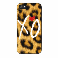 The Weeknd Xo Leopard iPhone 5s Case