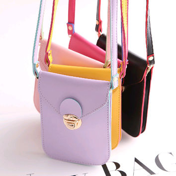 Summer Mini Vintage Phone Bags Stylish Shoulder Bags Purse [6581872007]
