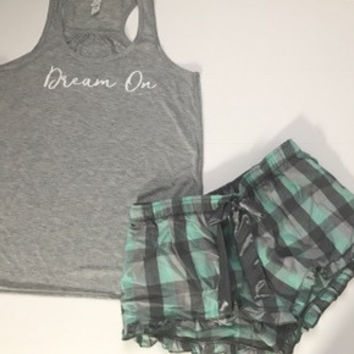 Dream On - Pajama Set - Ruffles with Love - RWL - Love - Pajamas