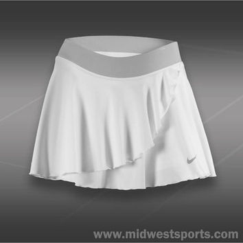 nike womens tennis skirt, Nike Ruffle Knit Skirt 541083-100