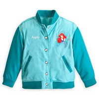 Disney Ariel Varsity Jacket for Girls - Personalizable | Disney Store