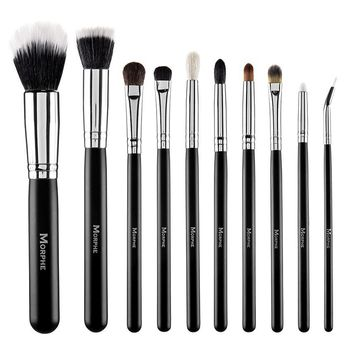 Authentic Morphe 10 Piece Deluxe Eye And Face Set