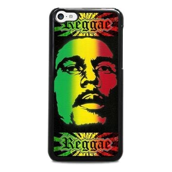 bob marley rasta iphone 5c case cover  number 2