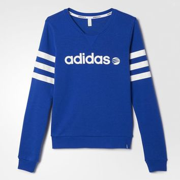 adidas Branded Sweatshirt - Blue | adidas US