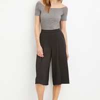 Contemporary Pleated Culottes