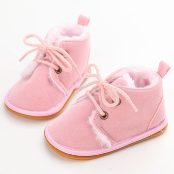 Choice of Fur Lined Baby Shoes