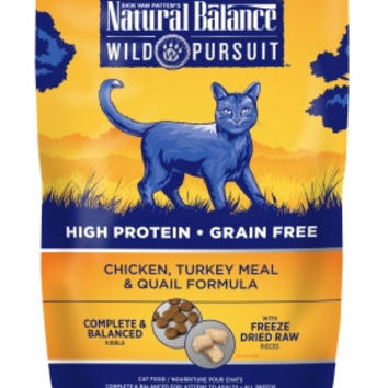 Wild Pursuit Chicken/Turkey/Quail Dry Cat Food 4 lbs
