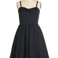 Kling LBD Mid-length Spaghetti Straps A-line Making an Impression Dress