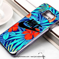 Nike Flower Samsung Galaxy S6 and S6 Edge Rubber Case