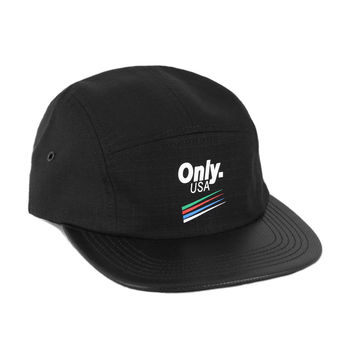 Only NY: Strike 5-Panel Hat - Black