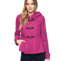 Wool Toggle Coat by Juicy Couture