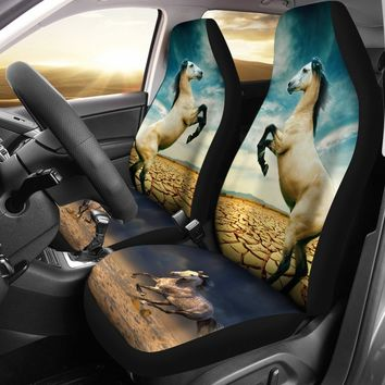 Andalusian Horse Print Car Seat Covers-Free Shipping