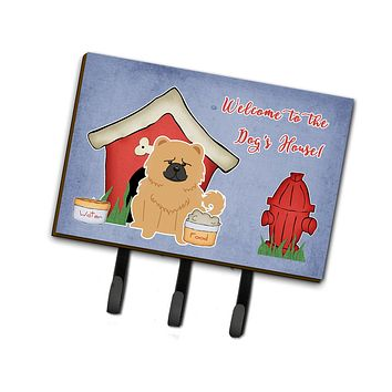 Dog House Collection Chow Chow Cream Leash or Key Holder