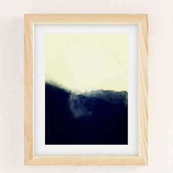 Derek Delacroix Misty Morning Art Print