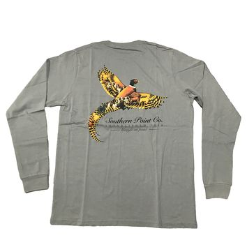 Southern Point, Signature Long Sleeve Tee, SLT-343