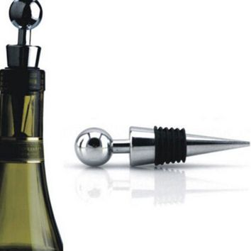 DCCKL72 Twist Wedding Wine Collection alloy+plastic Fresh Gifts High Quality Wine Stopper Red Wine Bottle Stopper