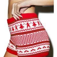Joy 2 Da World Knit Shorts | Dolls Kill