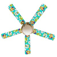 """Scooby Dooby Doo 52"""" Ceiling Fan and Lamp"""