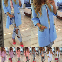 Knitted Cardigan Loose Coat