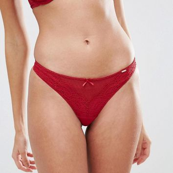 Dorina Natalie Red Thong at asos.com