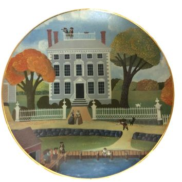 Colonial Heritage Series: Early American Society Collector Plate