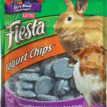 Kaytee Fiesta Rabbit Guinea Pig Berry Yogurt Chips 3.5 oz