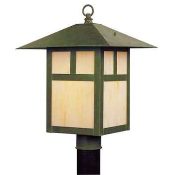 Livex Lighting 2140-16 Montclair Mission Verde Patina One-Light Outdoor Fixture