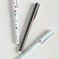 Scriven and Taken Pen Set | Mod Retro Vintage Desk Accessories | ModCloth.com