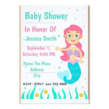 Cute For Baby Shower Card