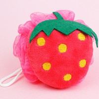 Strawberry Loofah Sponge