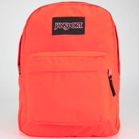 Jansport Black Label Superbreak Backpack Fluorescent Red One Size For Men 22892830001