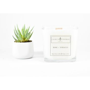 Rose Tobacco Classic Collection Candle