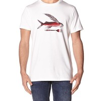 - FLYING FISH OG T-SHIRT BY PATAGONIA IN WHITE