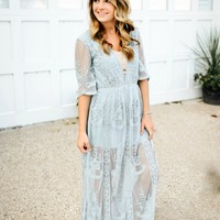 Lovely In Lace Maxi