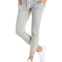 FLEECE-LINED JOGGER PANTS