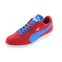 Puma Mens Liga NBK Leather Lightweight Fashion Sneakers