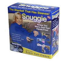Hot Deal Snuggie Blanket with Sleeves Shirt Hot Sale Lazy Home Warm Blanket [6414405828]