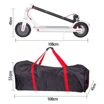 Waterproof Carry Bag For Xiaomi Mijia M365 electric scooter bag backpack Kick scooter Electric Scooters bike bicycle carry bags
