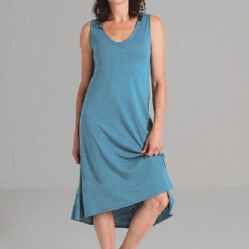 Long Linen Dress - Abby