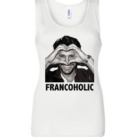 James Franco Francoholic Bella Canvas Racerback Tank Top