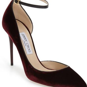 Jimmy Choo 'Lucy' Half d'Orsay Pointy Toe Pump (Women) | Nordstrom