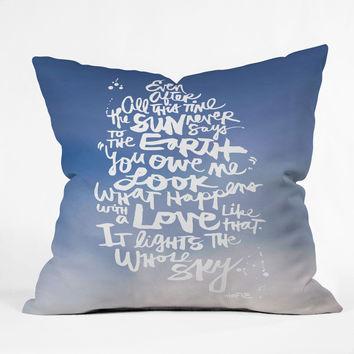Kal Barteski Even After All 2 Throw Pillow