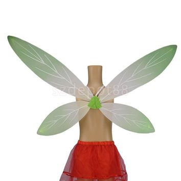 Kids Fairy Wings Angel Birthday Party Costume Fancy Dress-up Wings White