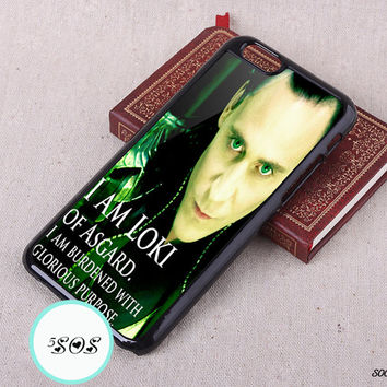 Loki iPhone 6 case Tom Hiddleston Loki Resin iPhone 6 plus iPhone 5S case iPhone 5c 4S Case, Samsung Galaxy S3 S4 S5 Case Note 2/ 3 - S0087