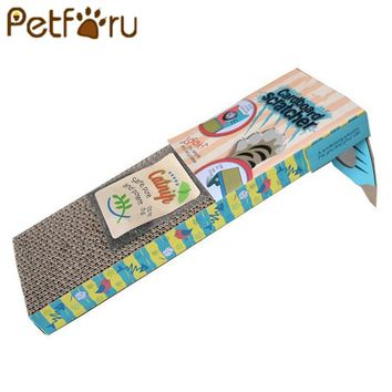 Petforu Healthy Cat Cats Scratch Board Door Hanger Scratching Post Board Pet Cat Scratcher Toy