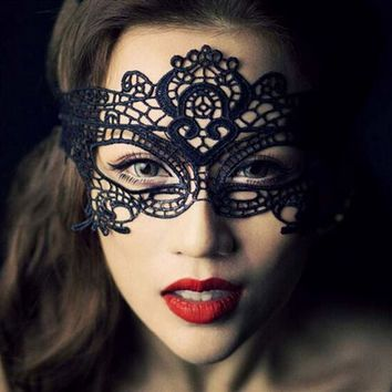 Free shipping lace mask unshaped mask sexy dance party queen hollow eye#6102